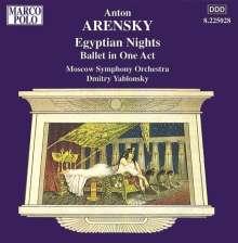 Anton Arensky (1861-1906): Ägyptische Nächte op.50, CD