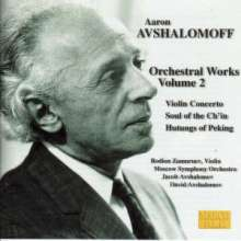 Aaron Avshalomoff (1895-1964): Violinkonzert, CD