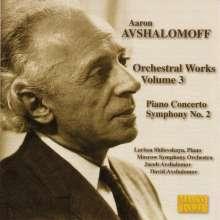 Aaron Avshalomoff (1895-1964): Symphonie Nr.2, CD