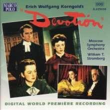 Erich Wolfgang Korngold (1897-1957): Devotion (Filmmusik), CD