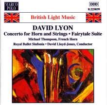 David Lyon (geb. 1938): Hornkonzert, CD