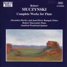Robert Muczynski (1929-2010): Sämtliche Werke für Flöte, CD