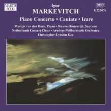 Igor Markevitch (1912-1983): Orchesterwerke Vol.6, CD