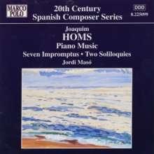 Joaquim Homs (1906-2003): Klavierwerke Vol.1, CD