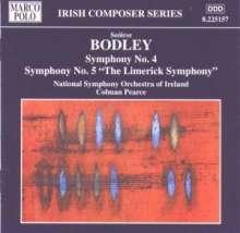 Seoirse Bodley (geb. 1933): Symphonien Nr.4 & 5, CD