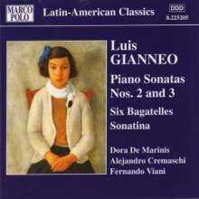 Luis Gianneo (1897-1968): Klavierwerke Vol.1, CD