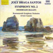 Joly Braga Santos (1924-1988): Symphonie Nr.2, CD