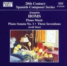 Joaquim Homs (1906-2003): Klavierwerke Vol.2, CD