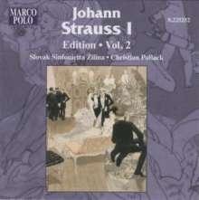 Johann Strauss I (1804-1849): Johann Strauss Edition Vol.2, CD