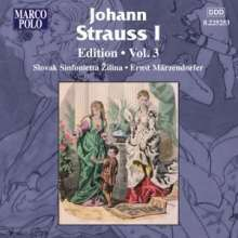 Johann Strauss I (1804-1849): Johann Strauss Edition Vol.3, CD