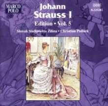 Johann Strauss I (1804-1849): Johann Strauss Edition Vol.5, CD