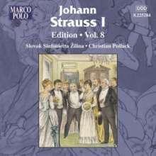 Johann Strauss I (1804-1849): Johann Strauss Edition Vol.8, CD