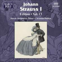 Johann Strauss I (1804-1849): Johann Strauss Edition Vol.13, CD