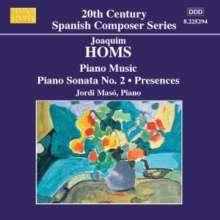 Joaquim Homs (1906-2003): Klavierwerke Vol.3, CD
