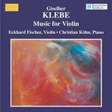 Giselher Klebe (geb. 1925): Sonaten für Violine solo Nr.1 & 2, CD