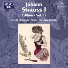 Johann Strauss I (1804-1849): Johann Strauss Edition Vol.14, CD