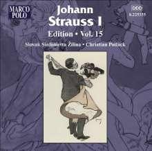 Johann Strauss I (1804-1849): Johann Strauss Edition Vol.15, CD