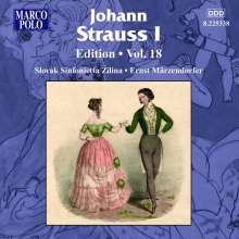 Johann Strauss I (1804-1849): Johann Strauss Edition Vol.18, CD