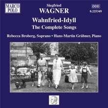 Siegfried Wagner (1869-1930): Sämtliche Lieder - Wahnfried-Idyll, CD