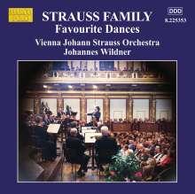 Strauss Family - Favourite Dances, CD