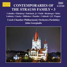 Contemporaries Of The Strauss Family Vol.3, CD