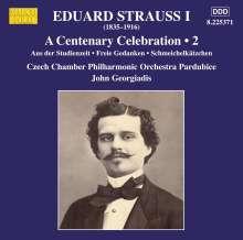 Eduard Strauss (1835-1916): Eduard Strauss I - A Centenary Celebration Vol.2, CD