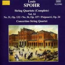 Louis Spohr (1784-1859): Streichquartette Vol.14, CD