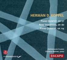 Herman Koppel (1908-1998): Klavierquartett op.114, CD