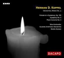 Herman Koppel (1908-1998): Symphonie Nr.5, CD