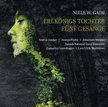Niels Wilhelm Gade (1817-1890): Elverskud op.30 (Erlkönigs Tochter), CD