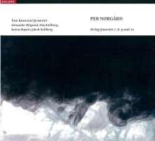 Per Nörgard (geb. 1932): Streichquartette Nr.7-10, CD