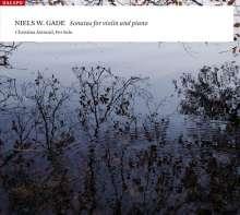 Niels Wilhelm Gade (1817-1890): Sonaten für Violine & Klavier Nr.1-3, CD