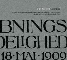 Carl Nielsen (1865-1931): Kantaten, CD