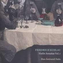 Friedrich Kuhlau (1786-1832): Sonaten für Violine & Klavier Vol.1, CD