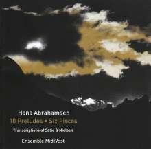 """Hans Abrahamsen (geb. 1952): Streichquartett """"10 Preludes"""", CD"""