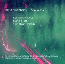 Bent Sörensen (geb. 1958): Konzerte, CD