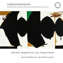 Christopher Rouse (1949-2019): Symphonien Nr.3 & 4, CD