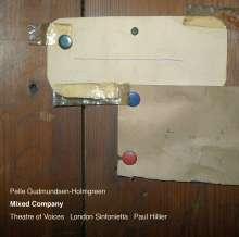 """Pelle Gudmundsen-Holmgreen (1932-2016): Werke für Stimmen & Instrumente """"Mixes Company"""", CD"""