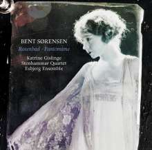 Bent Sörensen (geb. 1958): Rosenbad - Papillons für Klavier & Streichquartett, CD