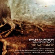 "Sunleif Rasmussen (geb. 1961): Symphonie Nr.2 ""The Earth Anew"", CD"