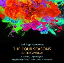 Karl Aage Rasmussen (geb. 1947): Vier Jahreszeiten nach Vivaldi für Orchester, CD