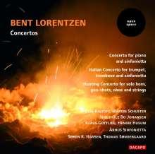 Bent Lorentzen (geb. 1935): Klavierkonzert, CD