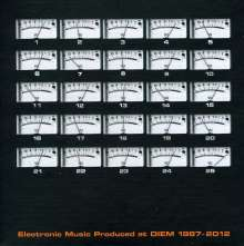Electronic Music Produced at DIEM 1987-2012, 2 CDs