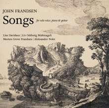 John Frandsen (geb. 1956): Lieder, CD