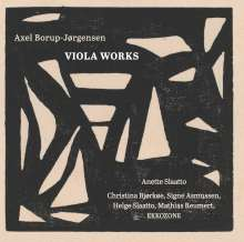 Axel Borup-Jörgensen (1924-2012): Kammermusik für Viola, CD