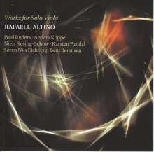 Rafaell Altino - Works for Solo Viola, CD