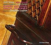 """Francis Poulenc (1899-1963): Geistliche & weltliche Chorwerke - """"Half Monk/Half Rascal"""", CD"""