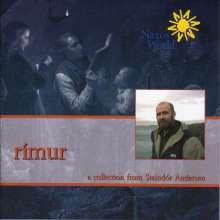 Island - Steindor Andersen: Rimur, CD