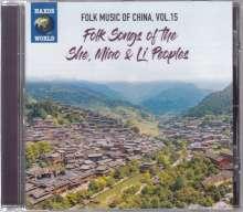 Folk Music Of China Vol.153: Folk Songs Of The She, Miao & Li Peoples, CD