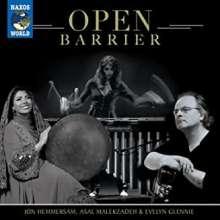 Jon Hemmersam, Asal Malekzadeh & Evelyn Glennie: Open Barrier, CD